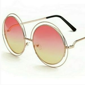 "Accessories - ""Rosé all day"" oversized sunglasses"